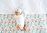 Copper Pearl Knit Swaddle - Leilani