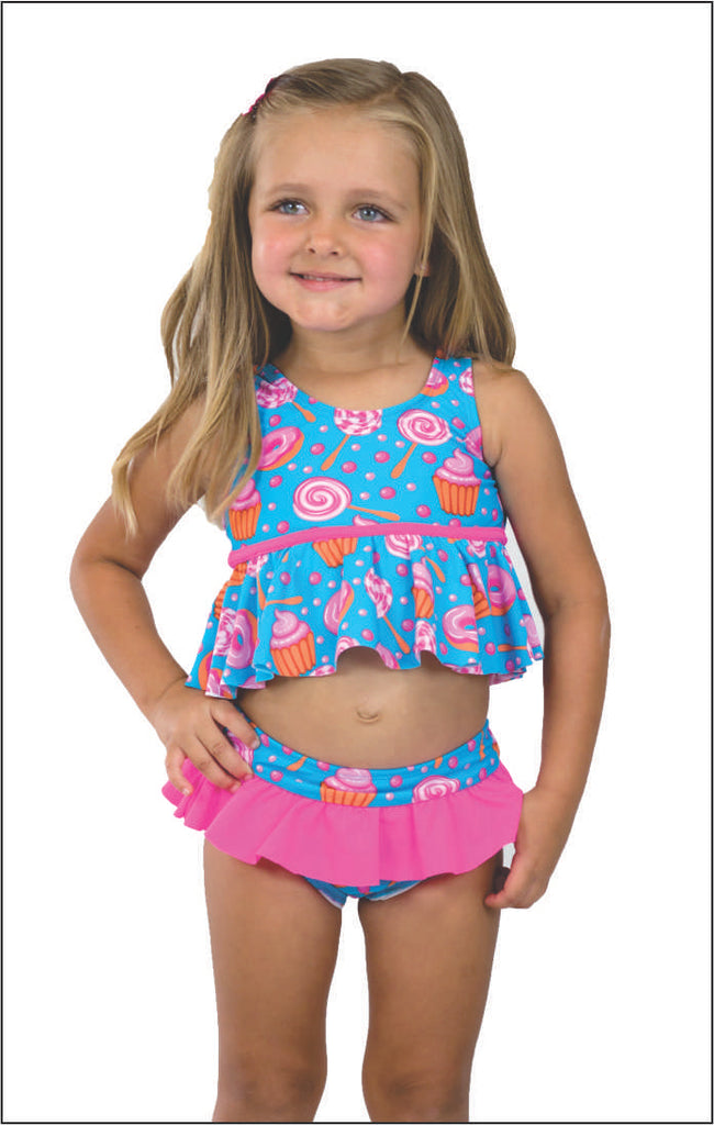fca5ec2bcc2 Coral & Reef Honey Cupcake Party Tankini Set – Casp Baby Mommy & Me Boutique