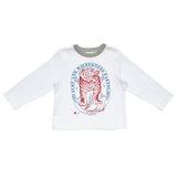 Blue Rooster by Pink Chicken Harry Graphic Tee - Montauk Surf Tiger