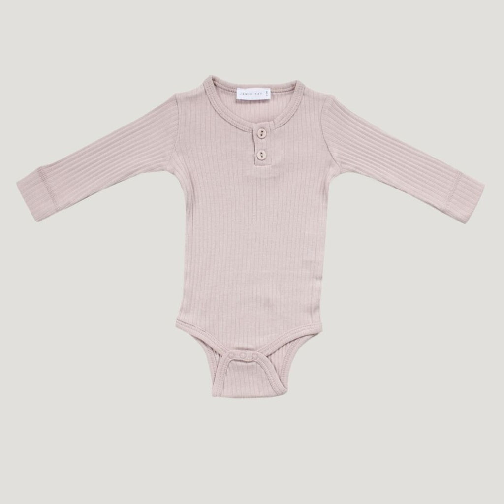 Jamie Kay Cotton Bodysuit - Violet Ice