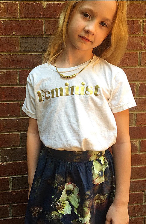 "Gunner & Lux ""Feminist"" Necklace"