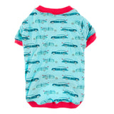 Kickee Pants Print Dog Tee - Shining Sea Woody