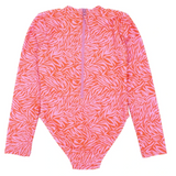 Feather 4 Arrow Wave Chaser Surf Suit - Coral Crush