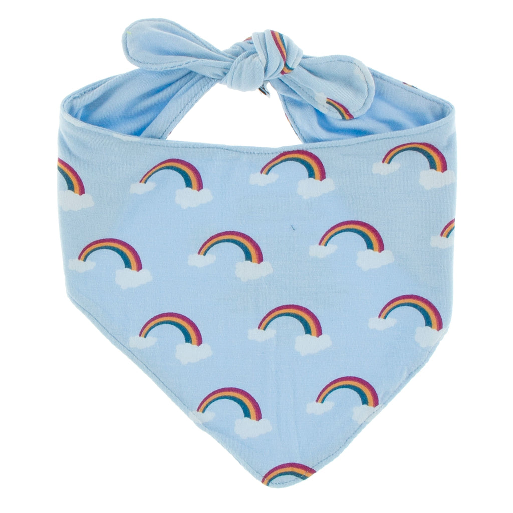 Kickee Pants Print Dog Bandana - Pond Rainbow