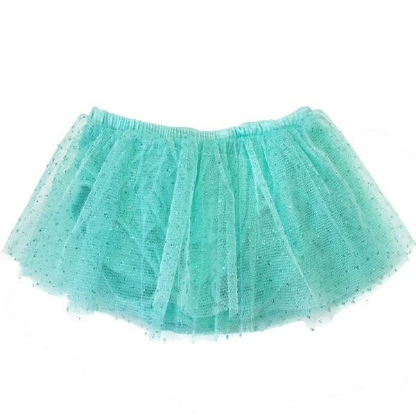 Oh Baby! Glinda Tushie Diaper Cover Skirt - Mint