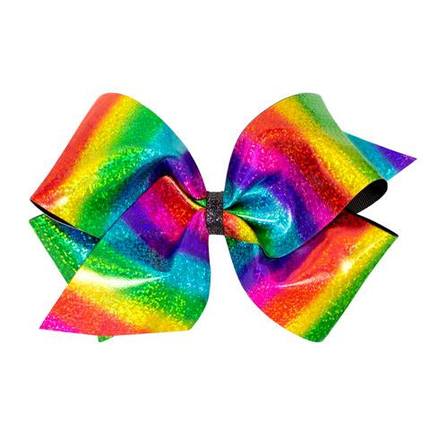 Wee Ones Rainbow Hologram Bow
