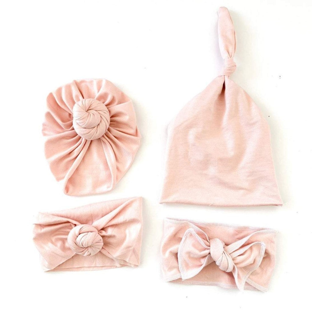 Harlee Bee & Co. Bow Headband - Blush