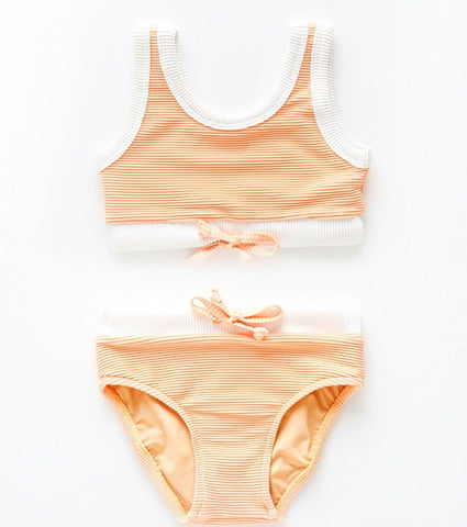 Zulu & Zephyr Mini Band Bikini - Citrus