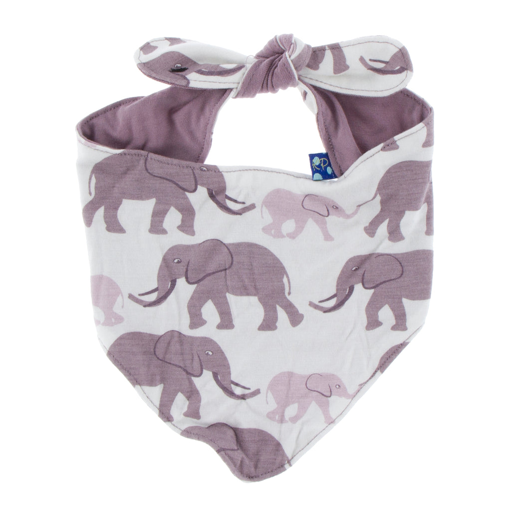 Kickee Pants Print Dog Bandana - Natural Elephant 1st Delivery