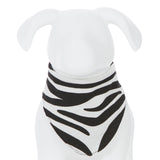 Kickee Pants Print Dog Bandana - Natural Zebra 1st Delivery