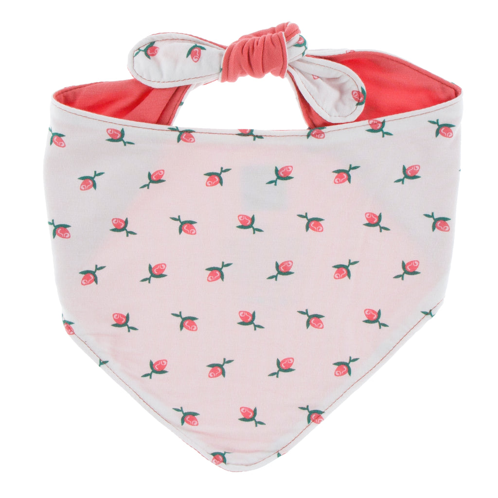 Kickee Pants Print Dog Bandana - Natural Rose Bud