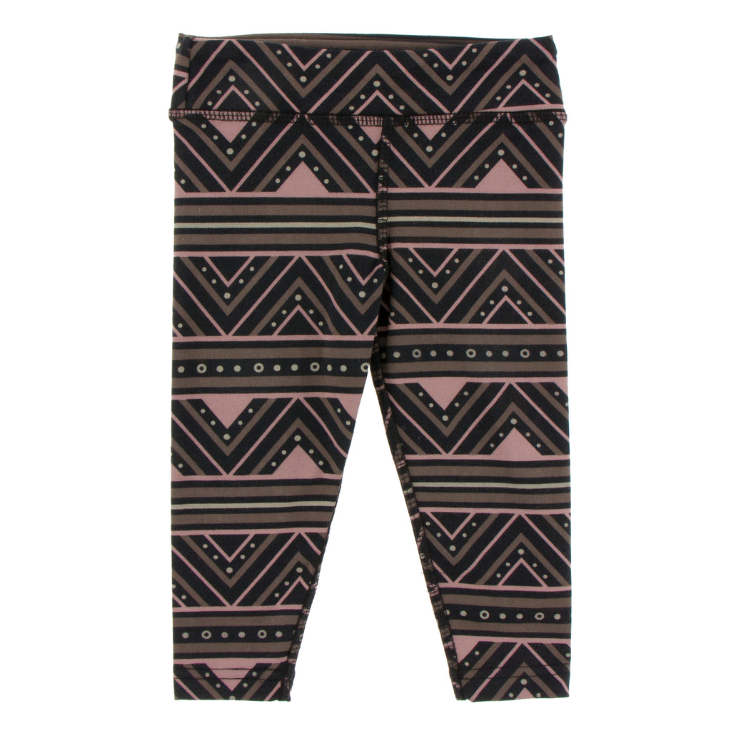 Kickee Pants Solid Performance Jersey Legging - African Pattern 1st Delivery