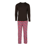 Kickee Pants Men's Print Long Sleeve Pajama Set - Union Jack