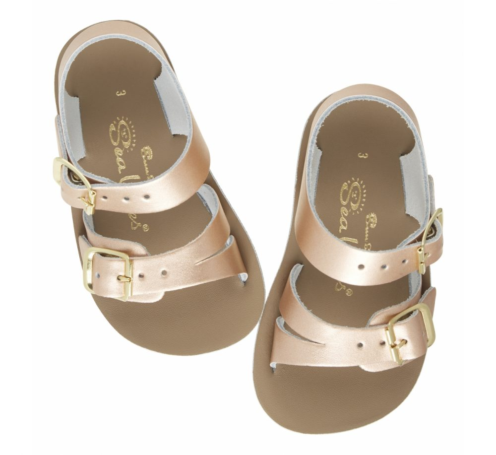 Sun San Saltwater Sandals Sea Wee - Rose Gold