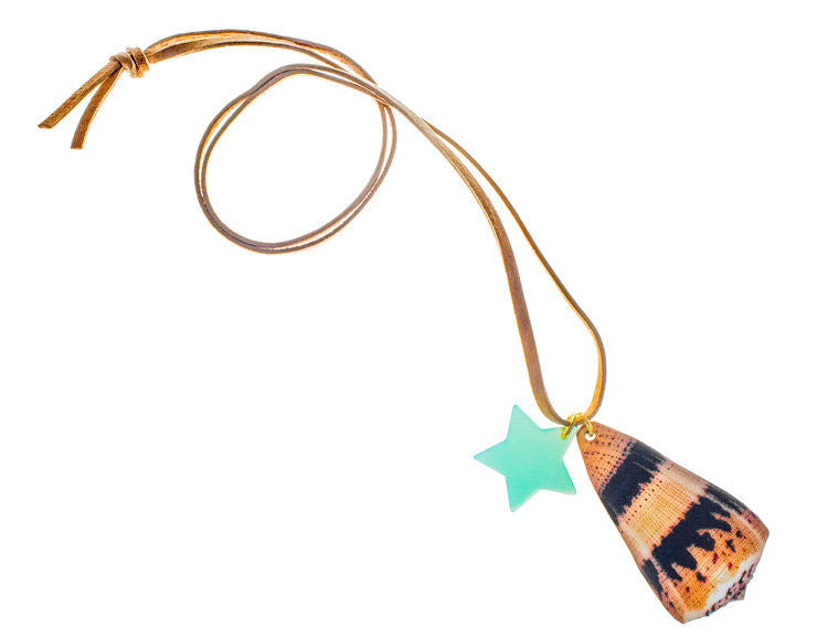 77373b87c163a Gunner   Lux I Can Hear The Ocean Seashell Necklace – Casp Baby Mommy   Me  Boutique