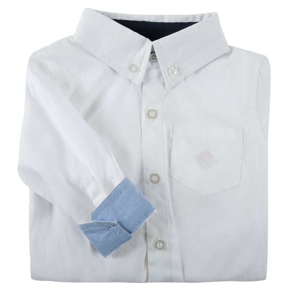 Andy & Evan White Oxford Shirt