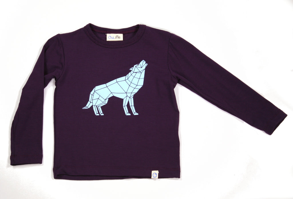 Wolf Long Sleeve T