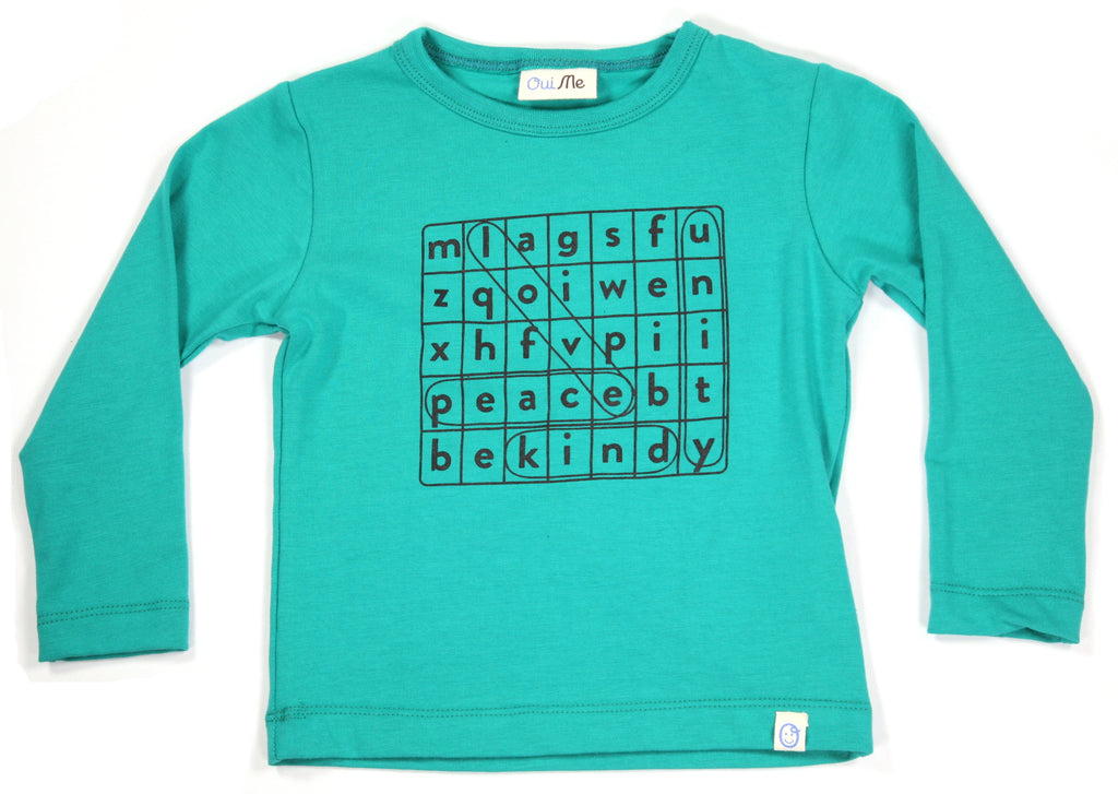 Word Search Long Sleeve T