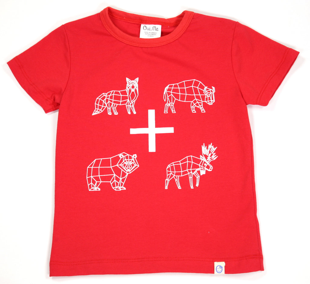 Animal T-shirt - size 8-9 & 10 only