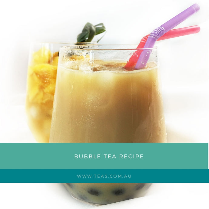 Bubble Tea Recipe