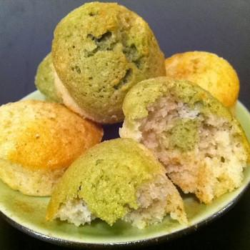 Matcha Egg White Mini Muffin