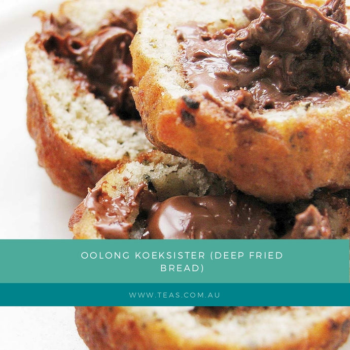 Oolong Koeksisters (deep fried bread) - A family favourite