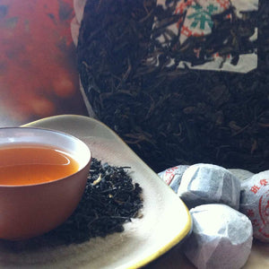 Raw and Ripe Puerh