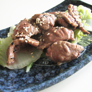 Puerh sesame paste beef with cabbage