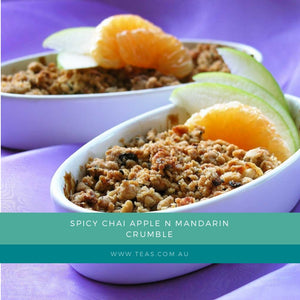 SPICY CHAI APPLE N MANDARIN CRUMBLE