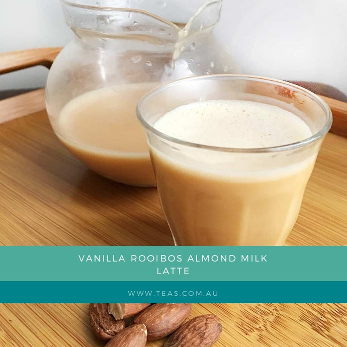 Rooibos Almond Milk Latte