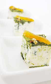 Blue Cheese with Matcha