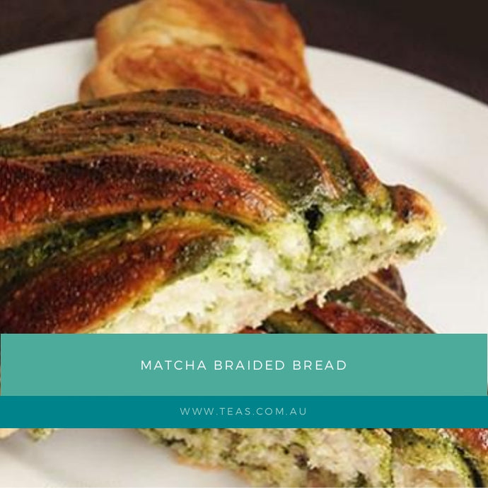 Matcha Braided Bread