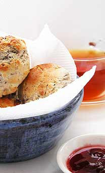 Rose Oolong Scones