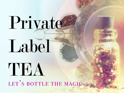 Private label tea coaching and service