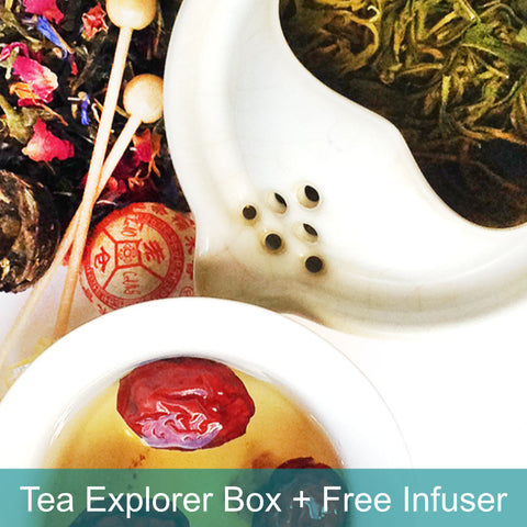 Tea Explorer Pack free infuser