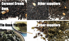 Teascomau tea vs other Australia suppliers