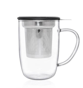 Glass Infuser Mug - 450ml