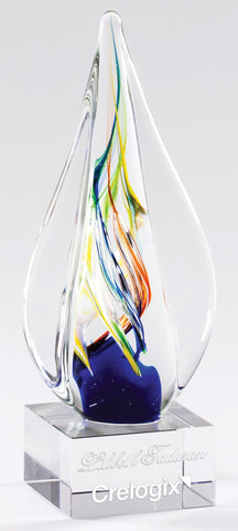 Art Glass 53 Sculpture 8.75""