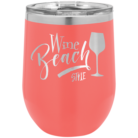 Wine Stemless Coral