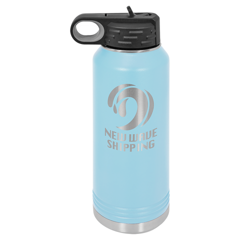 Water Bottle Light Blue