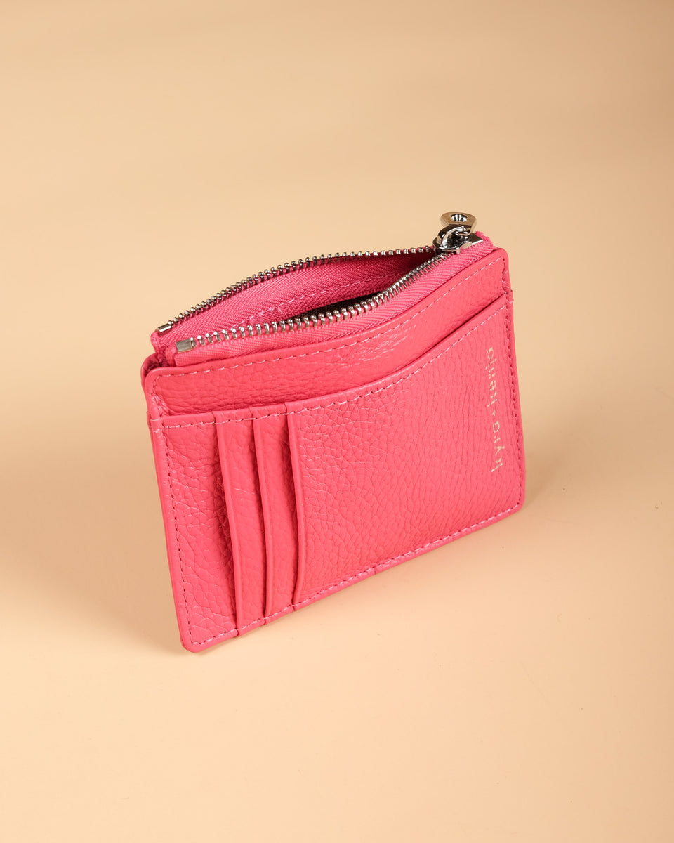 Zip Card Holder Watermelon