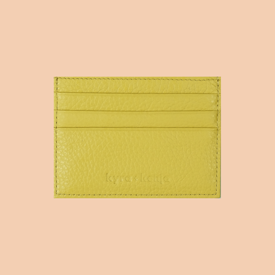 Lemon Yellow Cardholders