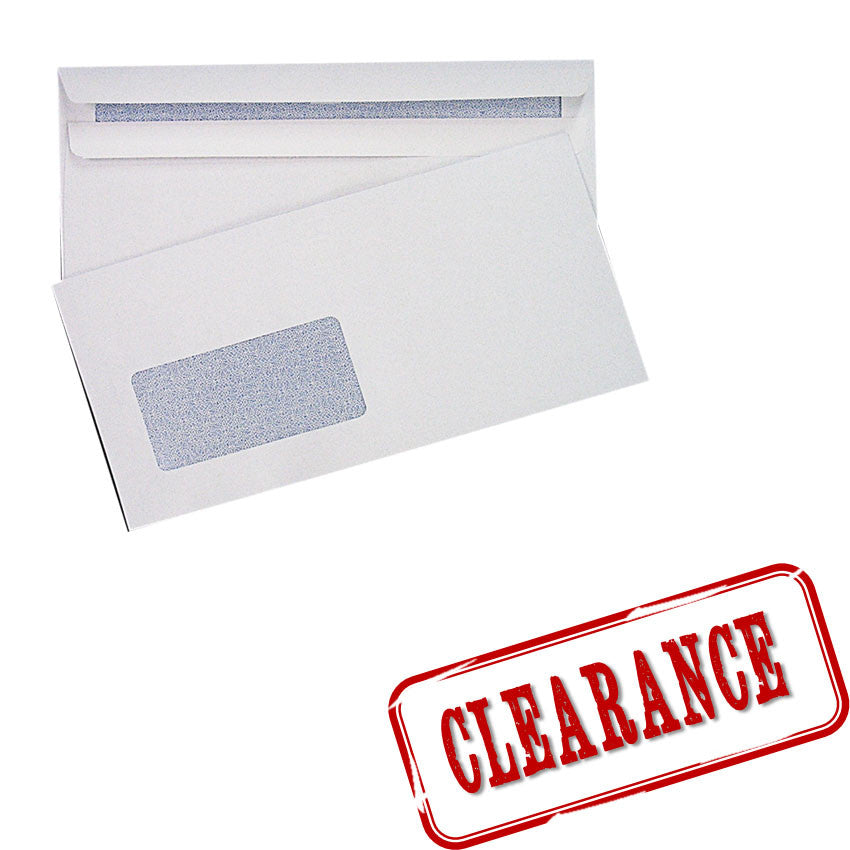 Business Envelope Clearance