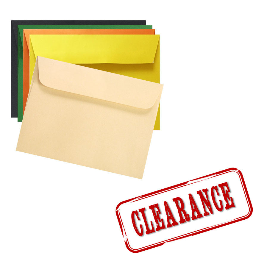 Coloured Envelope Clearance