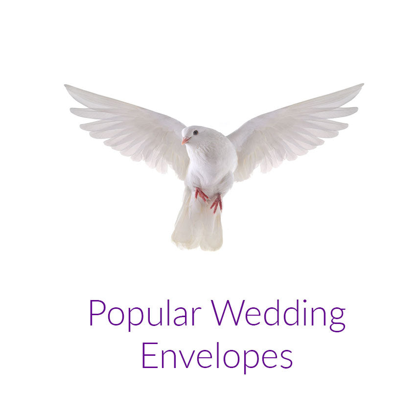 Popular Envelopes for Weddings