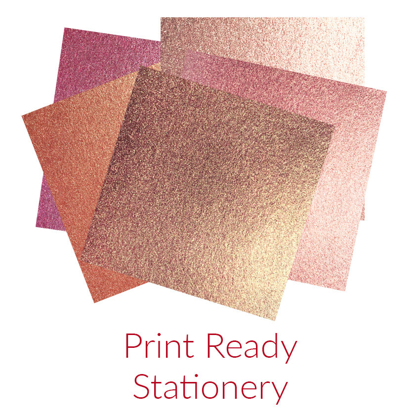 Print-Ready Stationery