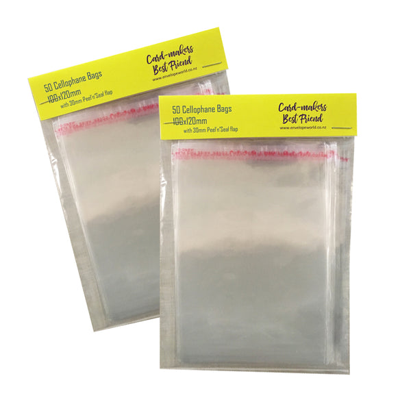 Cellophane Bags - all sizes