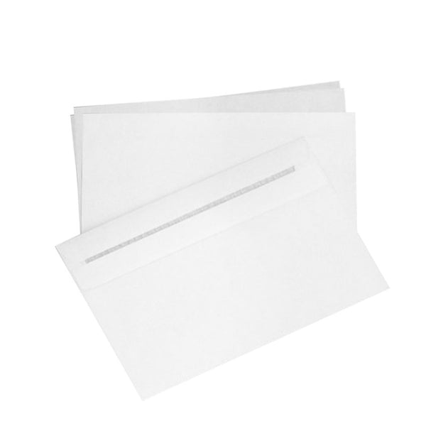 Essential White Self Seal- 114x162mm (C6)