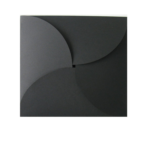 Pure Black - 120x120mm (BUTTERFLY)