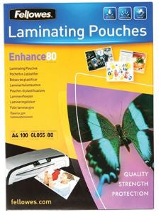 Laminating Pouch A4 80mic.
